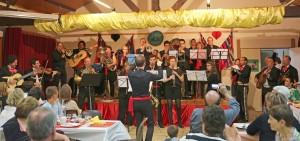 L'orchestre Musique et Découverte lors de la soirée mexicaine. Octobre 2014