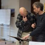 Yves Cerf et Narciso Saùl