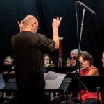 Concert de fin de stage de musique bulgare. Photo de Emilie Tournier