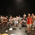 Répétition de l'orchestre Musique et Découverte à Catane sous la direction de Yves Cerf et Antonio Catalfamo